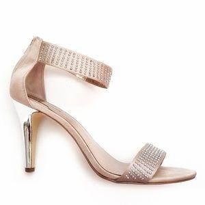 Alfani Annika Satin & Rhinestone Sandal Sz 10